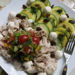 【唐辛子レシピ】豚しゃぶとズッキーニのサラダ  -サルサソース-
