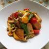 【唐辛子 レシピ】さつま揚げとキノコのチリソース炒め