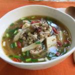 【唐辛子レシピ】かんずり入り具だくさん和風スープ