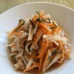 【唐辛子レシピ】魚醤風味のピリ辛なます