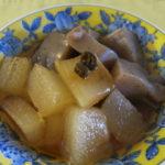 【青唐辛子レシピ】冬瓜とこんにゃくの青唐辛子醤油煮