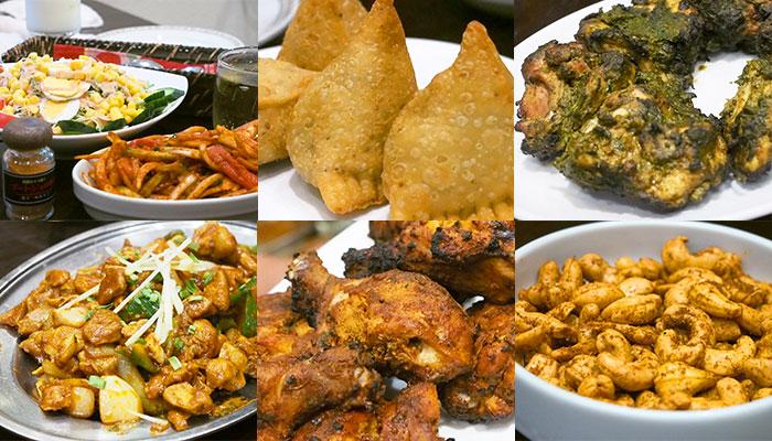 本場インド料理おいしい料理