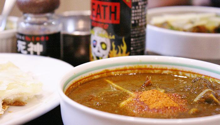 本場インドのおいしい料理