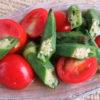【唐辛子レシピ】焼きオクラとトマトのタイ風マリネ