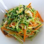 【唐辛子レシピ】野菜のピリ辛ナムル