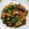 【唐辛子レシピ】厚揚げとほうれん草の塩柚子胡椒炒め