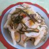 【唐辛子レシピ】大根の塩柚子胡椒漬け