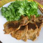 【唐辛子レシピ】豚肉の柚子胡椒ポンマヨ焼き